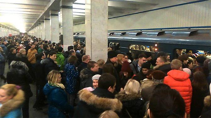 Интервалы движения поездов были увеличены наКалужско-Рижской линии метро потехпричинам