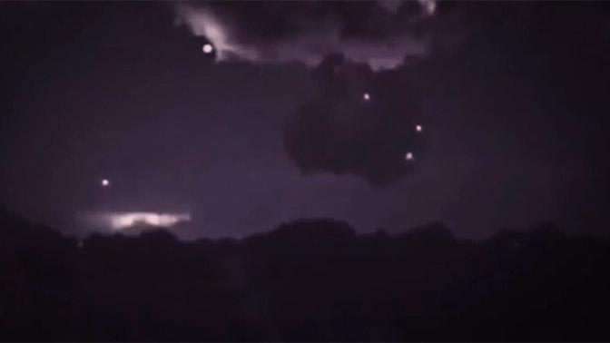 «Заряжающиеся от грозового облака НЛО» сняли на видео