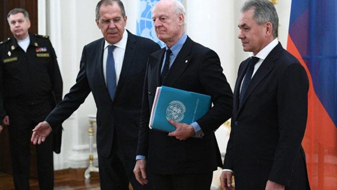 Лавров призвал отменить односторонние санкции ряда западных стран против Сирии