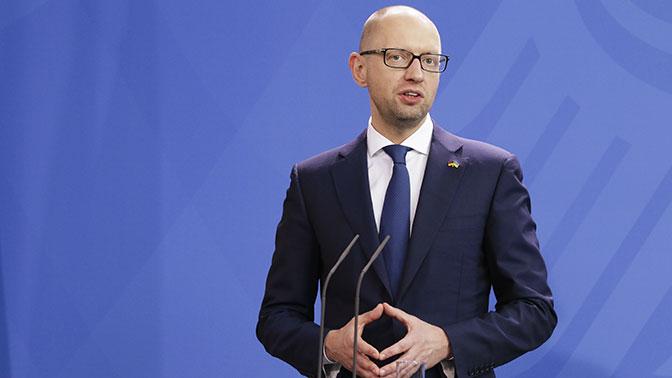 МВД Украины прокомментировало задержание Яценюка позапросуРФ