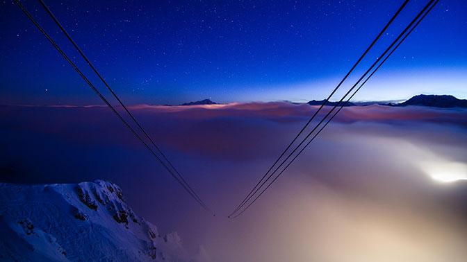 Десятки людей застряли наподъемнике вофранцузских Альпах