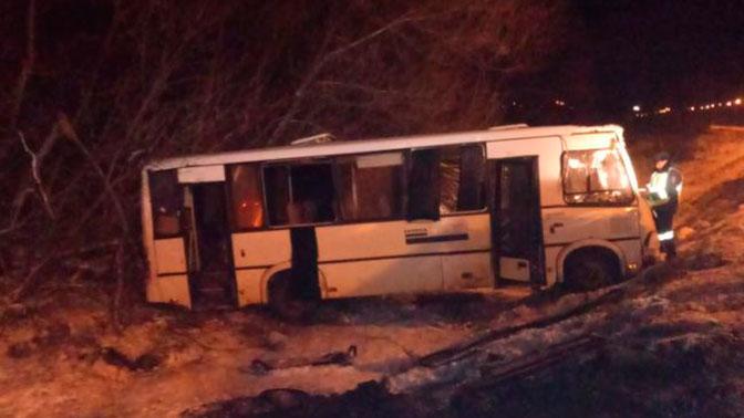 5 человек пострадали вДТП срейсовым автобусом вЛипецкой области
