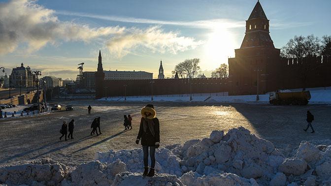 Температура в столицеРФ добралась дорекордной отметки