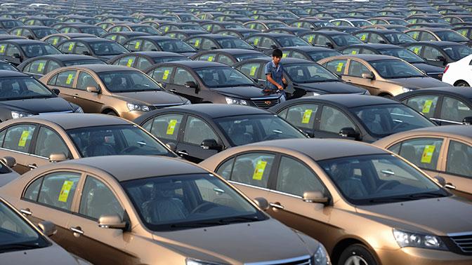 В Китае сняты спроизводства около пятисот моделей авто— Неэкологичные машины