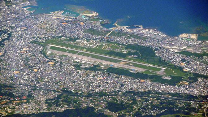 Очередной вертолет ВВС США забарахлил внебе Японии