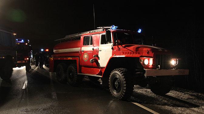 Пожар вбизнес-центре «Физтехпарк» насеверо-востоке Москвы локализован вполночь