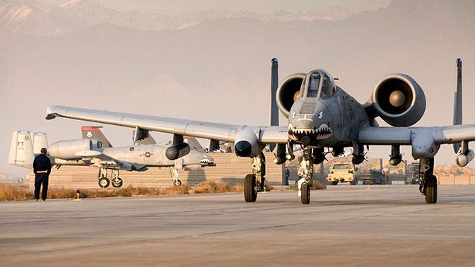 ВВС США остановили полеты штурмовиков A-10 из-за гипоксии улетчиков