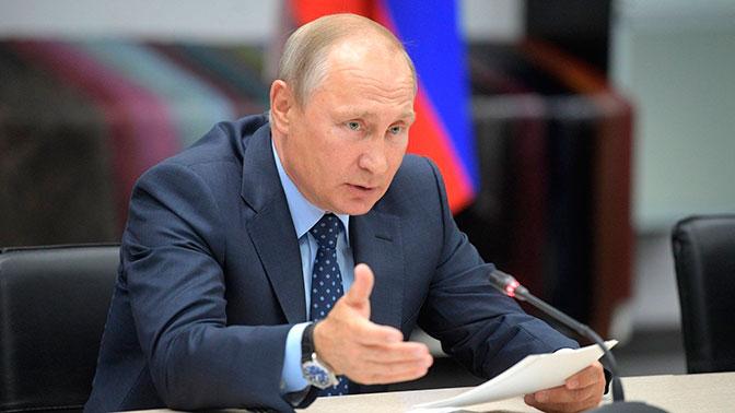 Песков подтвердил факт недавней встречи В. Путина  сМедведчуком