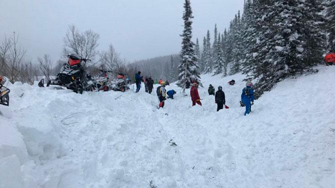 В Хакасии при сходе лавины погибли два туриста