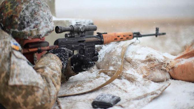 В ЛНР сообщили о переброске ВСУ в зону «АТО» иностранных снайперов для провокаций накануне переговоров в Минске