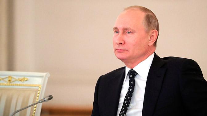 Заработал официальный сайт избирательного штаба Владимира Путина