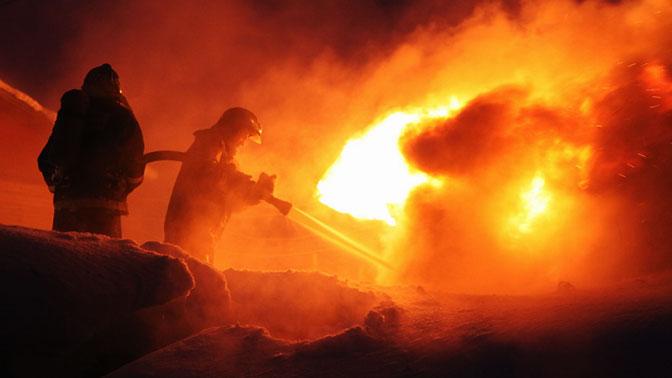 В Москве горит торговый комплекс «Садовод» 2ec317bbc2a