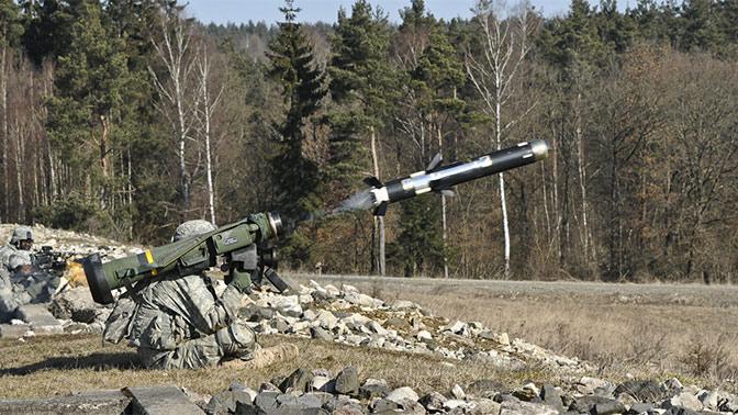 США подтвердили поставки Украине комплексов Javelin засчет своего бюджета