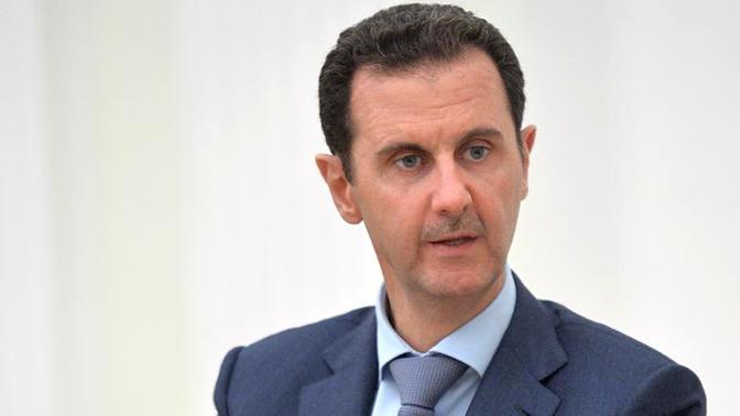 Асад считает целью операции Турции в Африне поддержку терроризма в Сирии