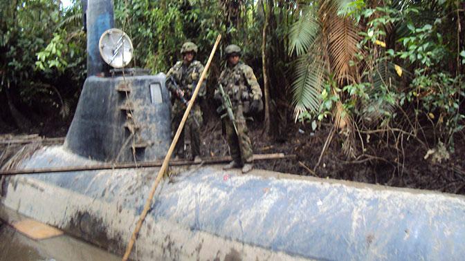 Подводный флот и частные армии: как воюют наркокартели
