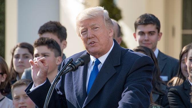 Белый дом назвал темы обращения Трампа к съезду
