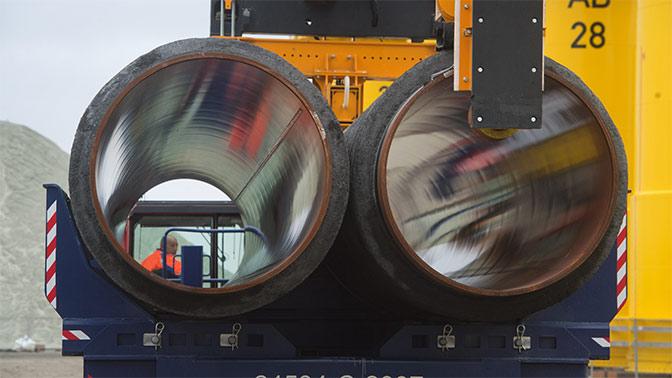 Акционеры Nord Stream 2 в минувшем году инвестировали впроект €3 млрд