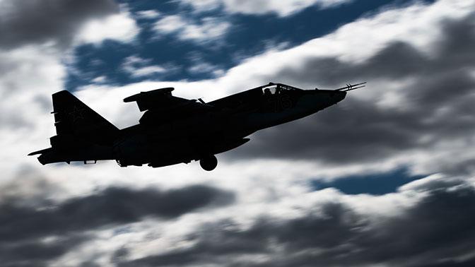 Российский Су-25 потерпел крушение в Сирии – Минобороны