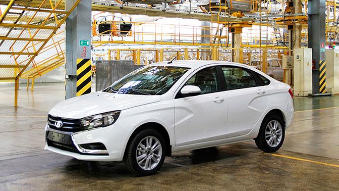 Lada Vesta стала самой популярной машиной среди россиян