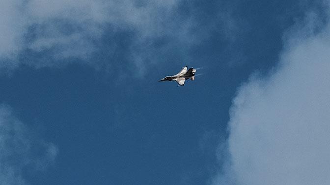 Самолет ВВС Израиля потерпел крушение насевере страны