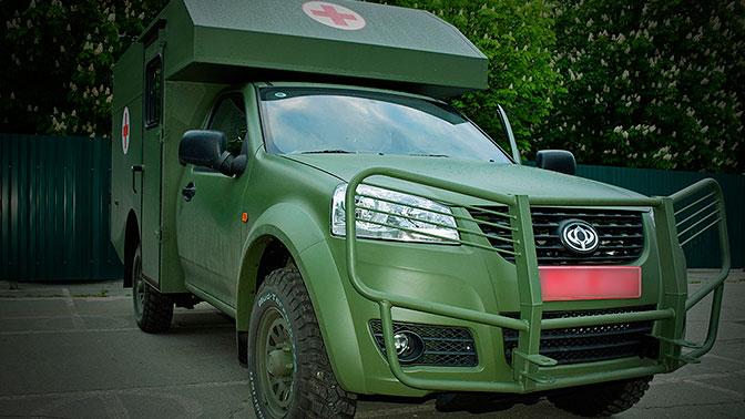 Минобороны Украины приостановило выпуск новейшего автомобиля «Богдан» из-за неисправностей