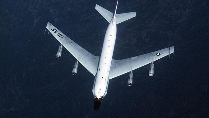 У границ России замечен американский самолет-разведчик