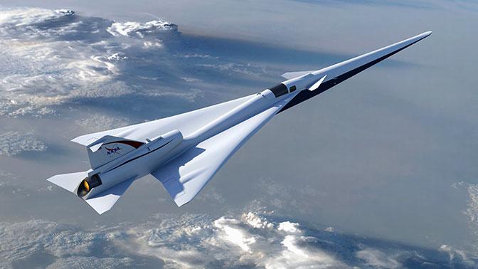 США возобновят создание сверхзвукового самолета QueSST X-Plane