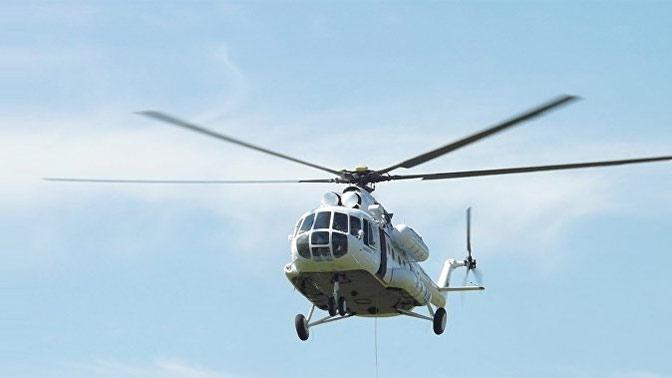 СК назвал основные версии крушения вертолета Ми-8Т под Томском