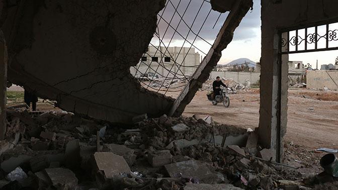 Боевики обстреляли жилые кварталы Дамаска - российский центр примирения в Сирии