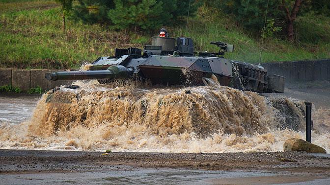 Германии не хватает танков для участия в операциях НАТО - СМИ
