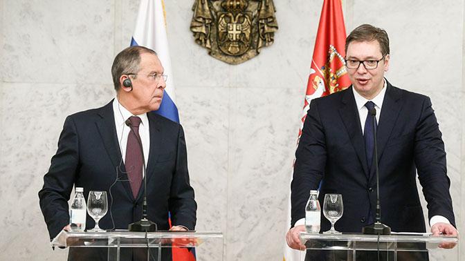 Президент Сербии пообещал неподдерживать санкции вотношении РФ