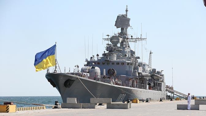 Фрегат ВМС Украины не смогли отремонтировать из-за антироссийских санкций
