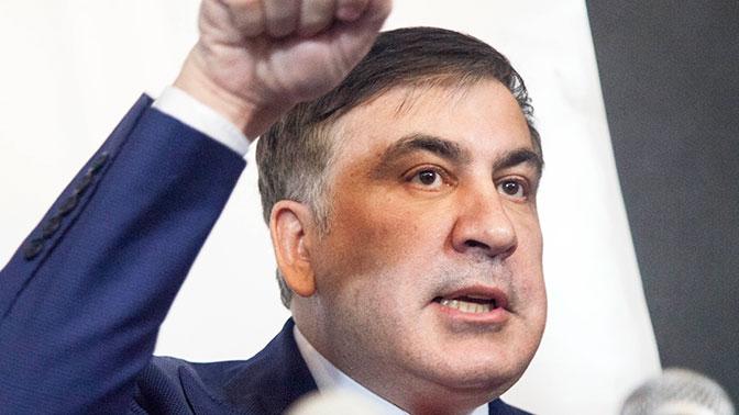 Саакашвили сравнил разгон своих сторонников в Киеве с тасканием его за волосы