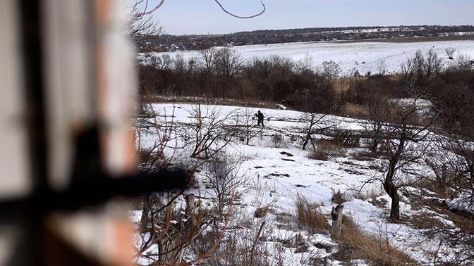 В ДНР зафиксировали мощный взрыв перед пролетом вертолета ВСУ у линии соприкосновения