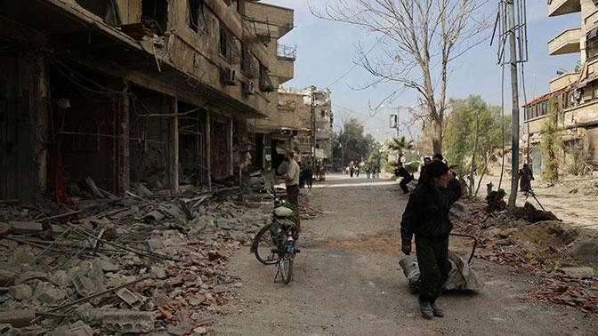 Операция против боевиков в Восточной Гуте не нарушает резолюцию ООН - МИД Сирии