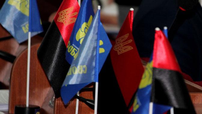 В Житомире разрешили вывешивать бандеровский флаг не менее шести раз в год