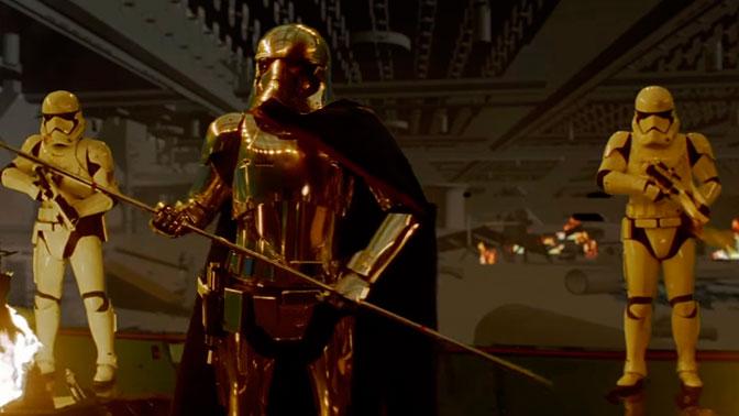 Звёздные войны. Эпизод 8: Последние джедаи / Star Wars VIII: The Last Jedi [2017]: В Сети опубликована вырезанная эпичная сцена битвы из «Последних джедаев»