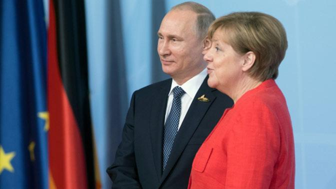 Путин поведал, что время отвремени получает вподарок пиво отМеркель