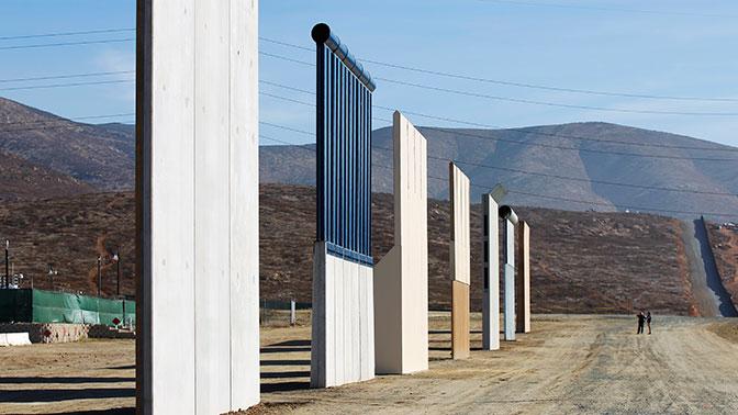 Небудет стены, небудет истраны— Трамп