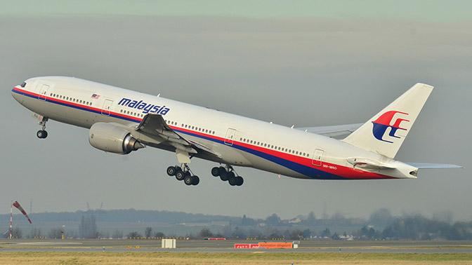 Власти Малайзии отреагировали на новость об обнаружении пропавшего Boeing