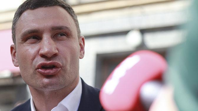 Кличко: Ядумаю обучастии ввыборах президента государства Украины