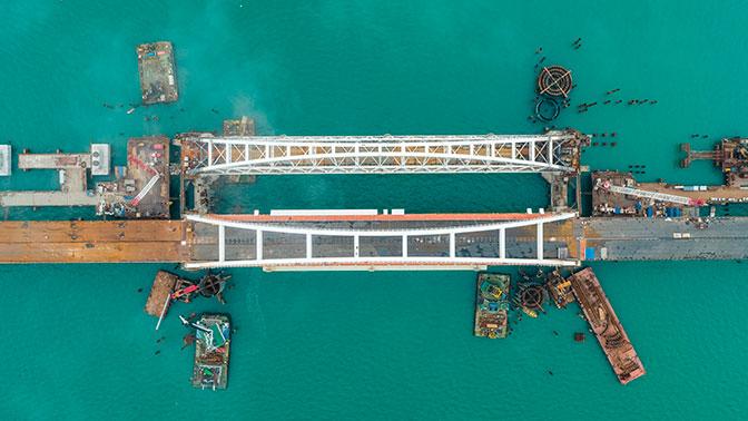 В Госдуме назвали популизмом украинский план блокады Крымского моста