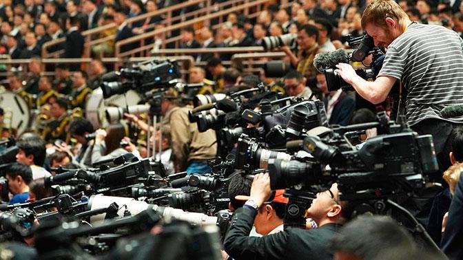 Песков назвал дискриминационным прекращение вещания каналаRT вВашингтоне