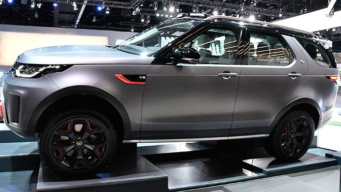 Land Rover установит автомобильный рекорд Гиннесса в Москве