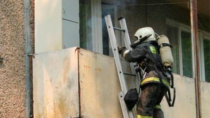 В итоге пожара наюге столицы пострадали три человека