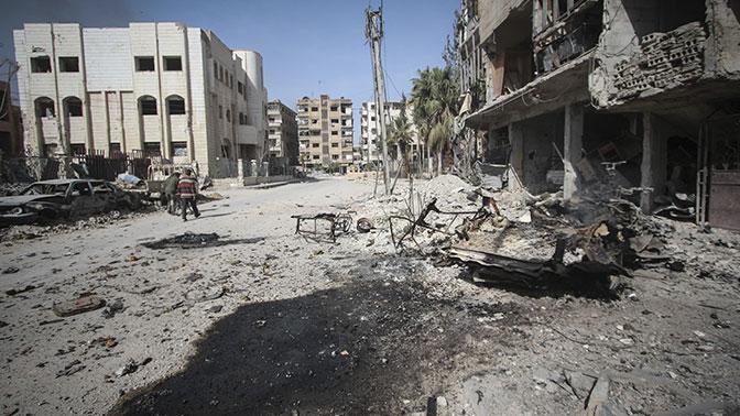 Мэй заявила, что виновные в химатаке в Сирии должны понести ответственность