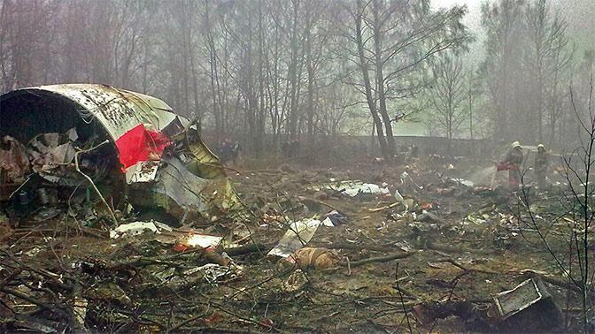 Польша сказала о 2-х взрывах всамолете Качиньского