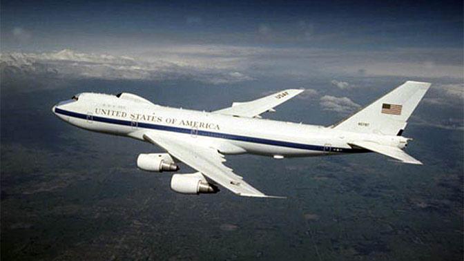 В США поднят в воздух «самолет судного дня»