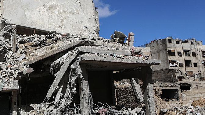 Сирийские военные обнаружили химлабораторию боевиков вВосточной Гуте