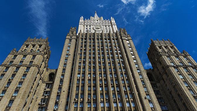 Российская Федерация  небудет тянуть сответом насанкции США— МИД
